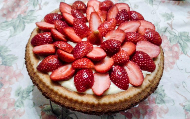 Crostata con base morbida